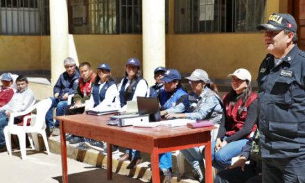 (Perú) ONPE coordina acciones de seguridad para elecciones municipales