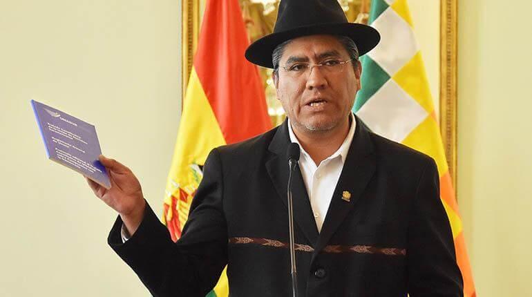 (Bolivia) El canciller Diego Pary ratificó hoy la presencia de observadores internacionales para transparentar las elecciones generales del próximo 20 de octubre