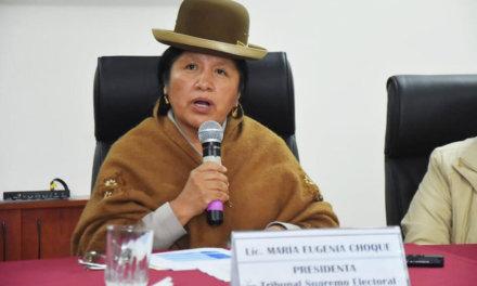 (Bolivia) TSE remite un spot de Ortiz a consulta de juez electoral