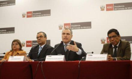 (Peru) Gobierno propone elecciones generales para el tercer domingo de abril de 2020