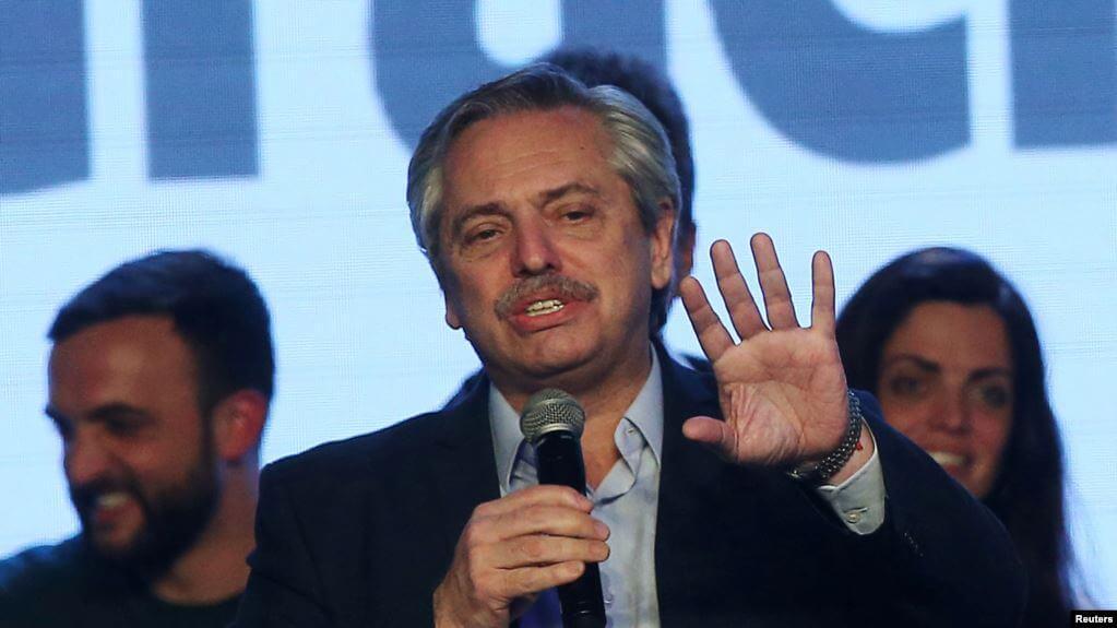 (Argentina) Fernández promete alinearse a México y Uruguay sobre Venezuela de ganar las elecciones