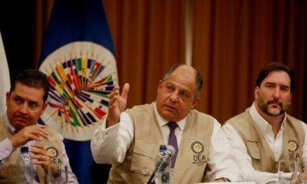 (Guatemala) La OEA felicita a Guatemala por unas elecciones exitosas pero pide mejoras