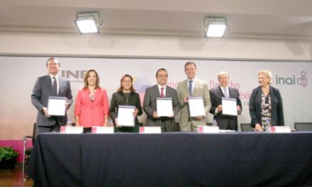 (México) INE e INAI firman convenio en materia de transparencia, protección de datos personales y rendición de cuentas