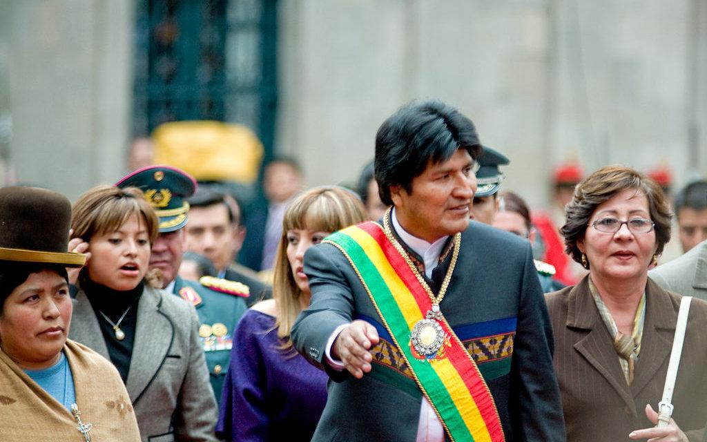 (Bolivia) Si las elecciones se realizarían este domingo, el presidente Evo Morales ganaría las elecciones con el 35% de los votos, seguido de Carlos Mesa, con el 25% y de Óscar Ortiz, con el 11%