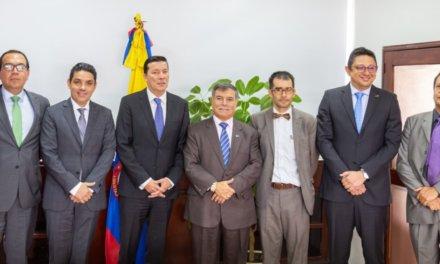 (Colombia) Hernán Penagos y Jorge Enrique Rozo nuevos Presidente y Vicepresidente del CNE