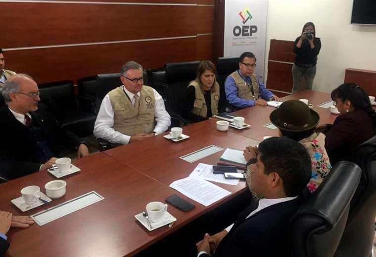 (Bolivia) OEA manifiesta su profunda preocupación y sorpresa por el cambio drástico y difícil de justificar en la tendencia de los resultados preliminares