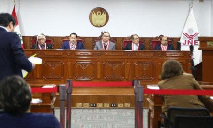 (Perú) JNE cerró el padrón electoral para las Elecciones Congresales de enero de 2020