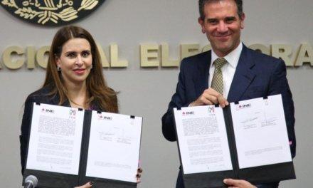 (México) INE y PRI firman convenio para el uso de la aplicación móvil para afiliación de militantes
