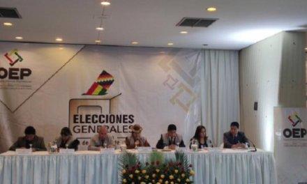 (Bolivia) TSE dice que se paralizó el TREP para «evitar la confusión» con resultados de departamentos