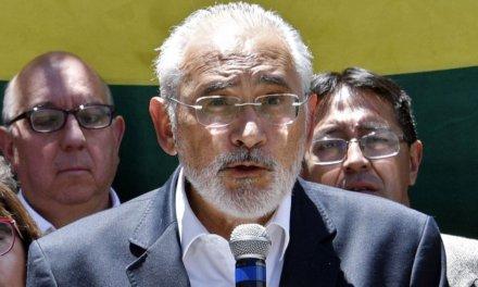 (Bolivia) Carlos Mesa exige la dimisión del TSE y la celebración de nuevas elecciones