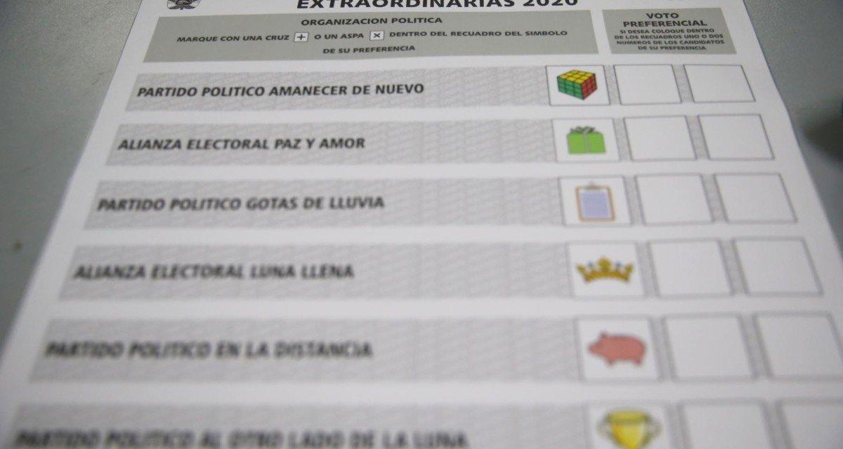 (Perú) Elecciones 2020: hoy inician impresión de las cédulas de sufragio