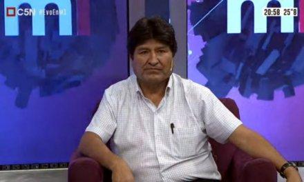 (Bolivia) Evo Morales pide misión electoral con delegados del Papa