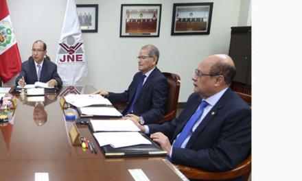 (Perú) JNE: Jurados Electorales Especiales deberán resolver hasta el próximo viernes 20 de diciembre los casos de tachas y exclusiones de los postulantes