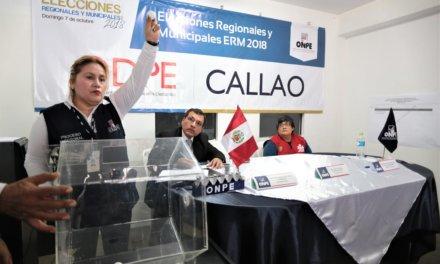 (Perú) ONPE sorteará ubicación de las organizaciones políticas en las cédulas de sufragio