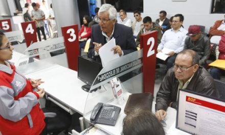 (Perú ) JNE: PARTIDOS DEBERÁN CONTAR CON UN MÍNIMO DE 24,800 AFILIADOS PARA INSCRIBIRSE
