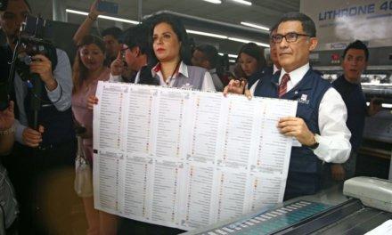 (Perú) Elecciones Congresales 2020: ONPE imprime más de 84 mil actas electorales