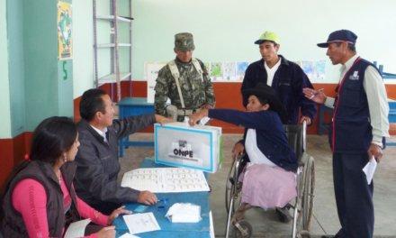 (Perú) Elecciones Congresales 2020: ONPE dispondrá más de 8 mil mesas de sufragio especiales para personas con discapacidad