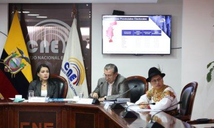 (Ecuador) CNE aprueba el presupuesto para trabajo operativo de 2020