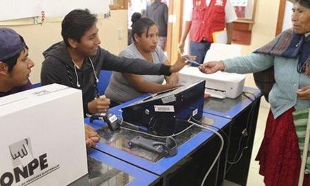 (Perú) Elecciones Congresales 2020: ONPE inició capacitación a partidos políticos sobre el uso del Voto Electrónico Presencial