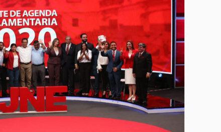 Veintiún candidatos de siete organizaciones políticas participaron en el primero de tres debates organizados por el Jurado Nacional de Elecciones (JNE).
