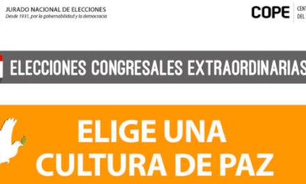 (Perú) JNE IMPULSA CULTURA DE PAZ EN SEIS LENGUAS NATIVAS POR ELECCIONES 2020