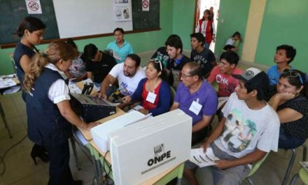 (Perú) Más de 590 mil jóvenes sufragarán por primera vez en las Elecciones Congresales Extraordinarias