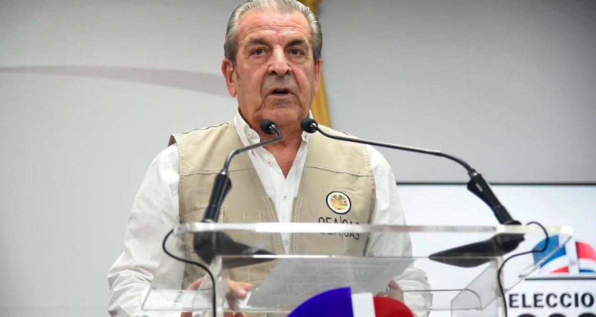 (República Dominicana) Eduardo Frei Ruiz-Tagle arribó a Santo Domingo para liderar la Misión de Observación Electoral de la OEA