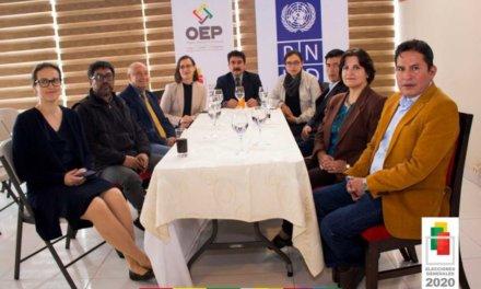 (Bolivia) TED Cochabamba y PNUD presentan proyecto 'Cultura de paz y fortalecimiento del OEP'