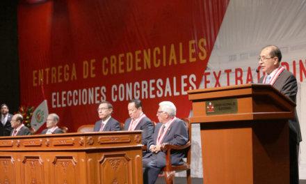 (Perú) TITULAR DEL JNE PIDE PRECISAR CIRCUNSCRIPCIÓN QUE COMPRENDERÁ VOTOS EN EL EXTRANJERO