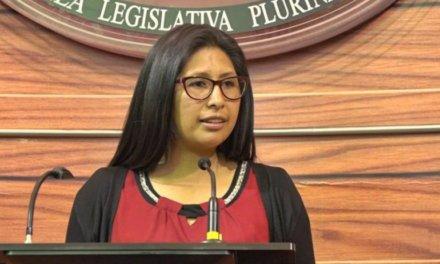 (Bolivia) Eva Copa, presidenta del Senado: deben celebrarse elecciones generales «lo antes posible»