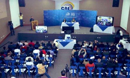 (Ecuador) El CNE plantea 3 formas de realizar las elecciones presidenciales tras el COVID-19