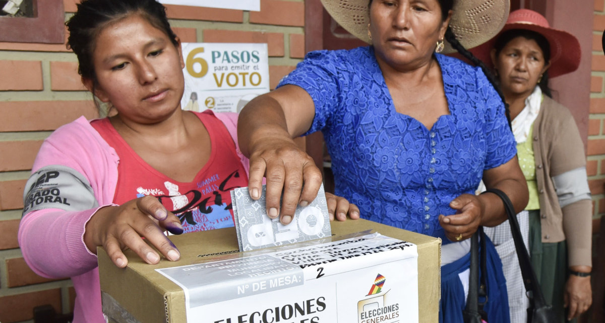 (Bolivia) Ruta de la Democracia: curva de la pandemia podría cambiar fecha de elecciones