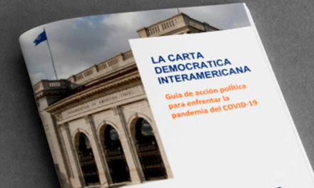 La Guía de la OEA para enfrentar a la pandemia desde la democracia