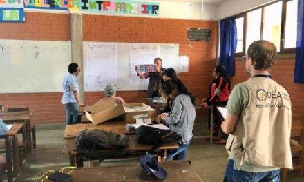 (Bolivia) Comunicado sobre campaña de desinformación en torno al rol de la OEA en las elecciones de Bolivia