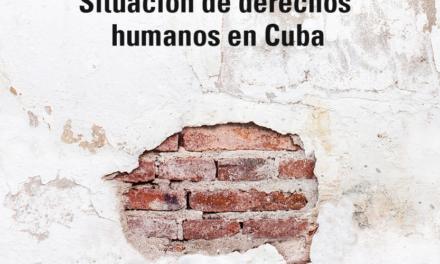 Cuba reprobada por el Informe de la CIDH