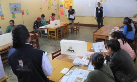 (Perú) Oficializan ley que suspende elecciones primarias abiertas y obligatorias