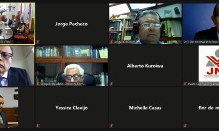 JNE Y CORTE ELECTORAL DE URUGUAY INTERCAMBIAN EXPERIENCIAS EN MANEJO DE COMICIOS DURANTE PANDEMIA