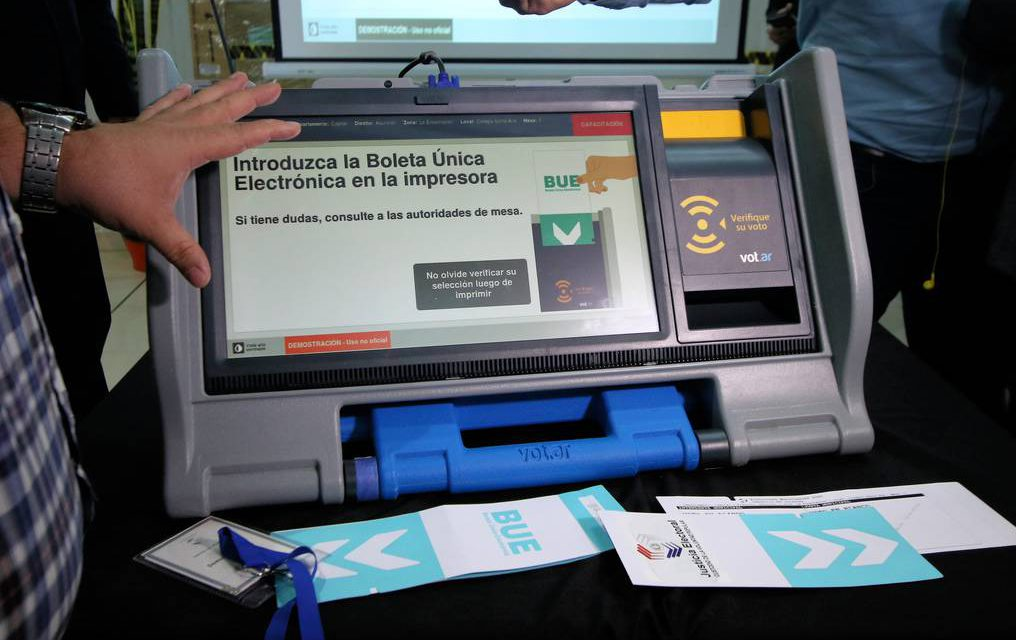 (Paraguay) Probarán máquinas de votación en elecciones del Consejo de la Magistratura