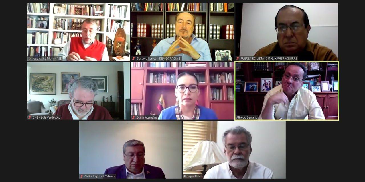 (Ecuador) CNE mantendrá mesas técnicas de trabajo con organizaciones políticas