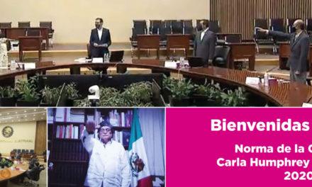 (México) Rinden protesta nuevos integrantes del Consejo General del INE