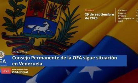 (Venezuela) Transparencia Electoral fue invitada a exponer en la reunión de seguimiento de Venezuela del Consejo Permanente de la OEA