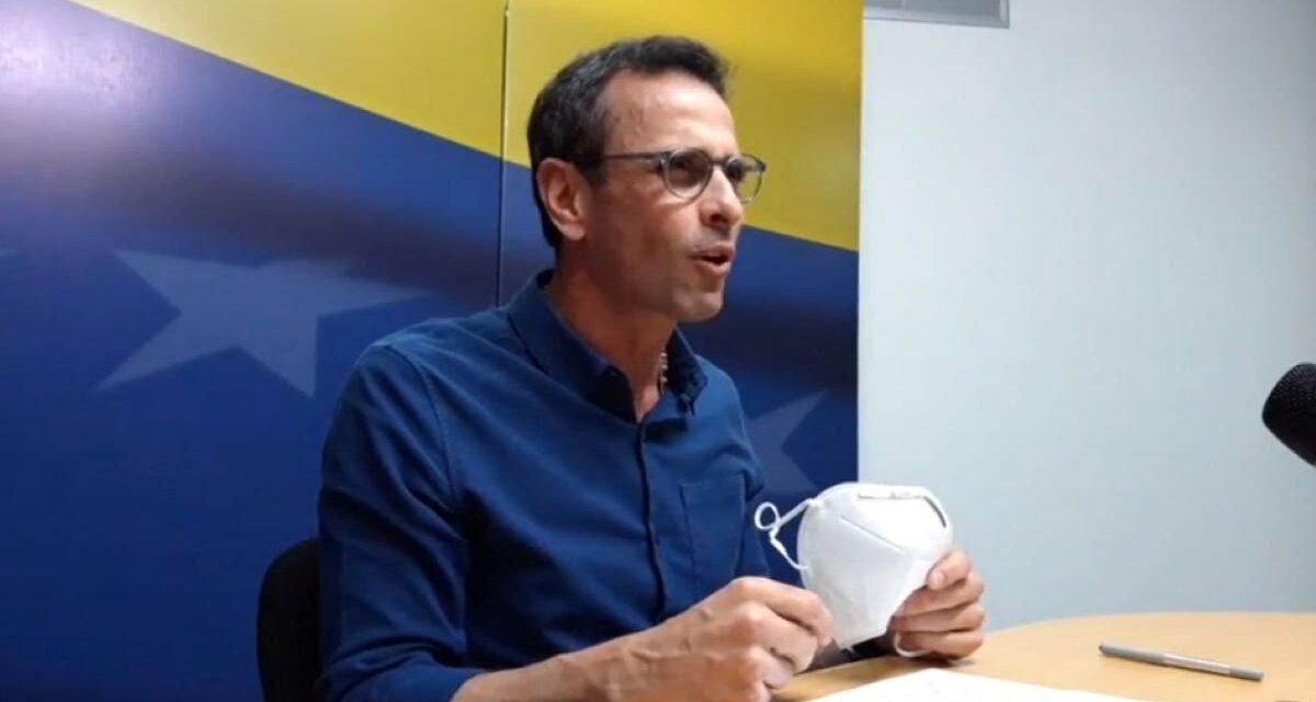 (Venezuela) Capriles convoca a opositores a participar en elecciones parlamentarias