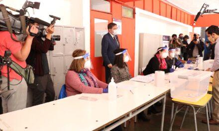 (Chile) Servel realizó representación oficial de la forma de votar en este Plebiscito Nacional 2020
