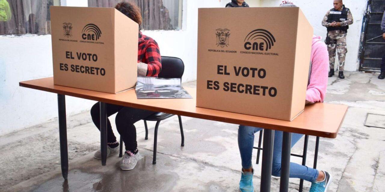 No se puede detener la impresión de papeletas para elecciones en Ecuador 2021
