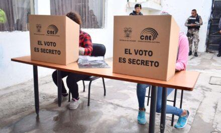 [Ecuador] CNE cambiará los biombos que se usarán en las elecciones del 2021