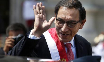 [Perú] A cinco meses de las elecciones, el Congreso destituyó al presidente Vizcarra