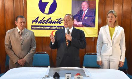 [Ecuador] CNE dice que no dará paso a inscripción de candidatura de Álvaro Noboa