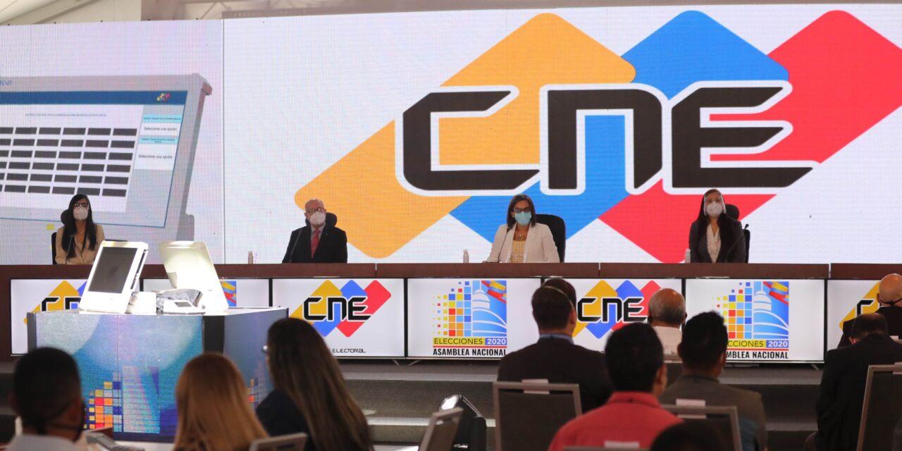 [Venezuela] CNE quebrantó la Constitución y cambió el acompañamiento electoral por una «veeduría»