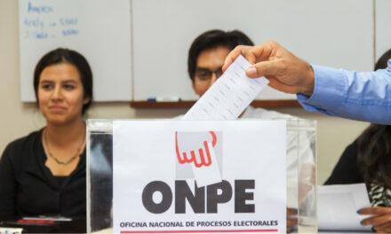 """[Perú] ONPE: """"No hay ninguna opción de que se modifique la fecha de las elecciones"""""""
