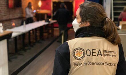 [Perú] Misión de observadores de OEA se reunirá con autoridades y partidos políticos